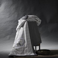 2018色织水洗棉帆布绣花夏凉被纯棉被芯空调被 200X230cm 布达城堡