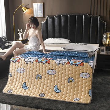 2020新款夏季空调软席软凉席软床垫子夏天冰丝席夏凉藤席竹席子可折叠机洗冰丝床垫