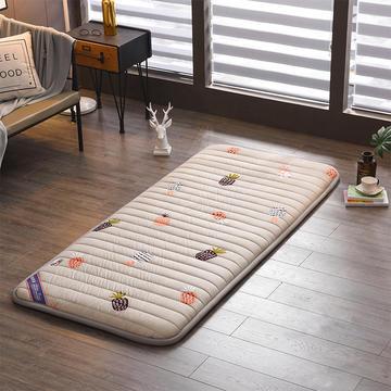 2020新款亲肤棉直线绗缝床垫小床款