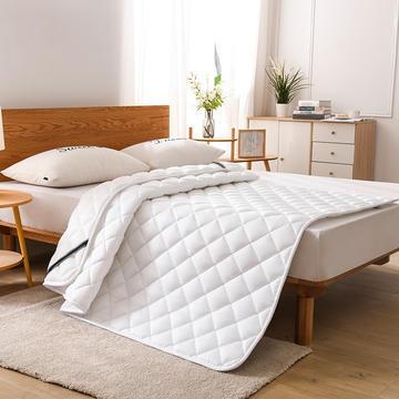 2020新款全棉3D纯色透气两用款床垫
