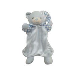 婴幼宝宝安抚巾礼物擦嘴口水巾手工儿童布偶围嘴手帕 米狗