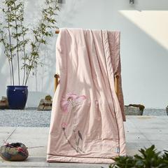 朴素之美夏被系列(雨荷) 200X230cm 雨荷
