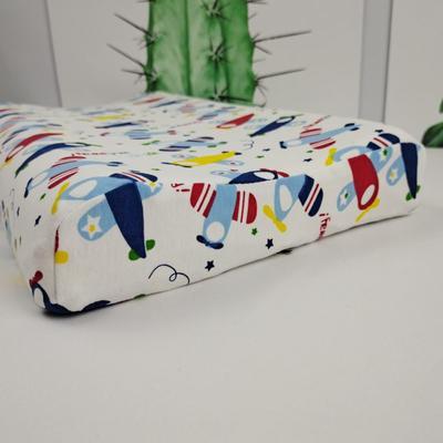 2020新款针织全棉卡通儿童天然乳胶枕 小飞机/只