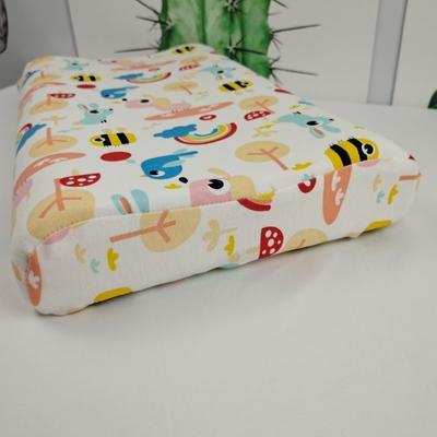 2020新款针织全棉卡通儿童天然乳胶枕 自由鸟/只