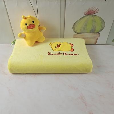2020绒款儿童乳胶玩具枕枕头枕芯25*44cm/只 小黄鸭