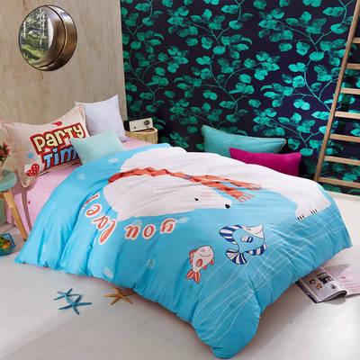 大版三件套纯棉平网 160*210cm 熊的梦想