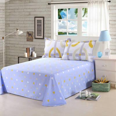 12868全棉单品系列  直角床单 160*230cm(直角) 暖暖时光