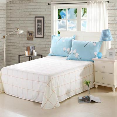 12868全棉单品系列  直角床单 160*230cm(直角) 如梦花季