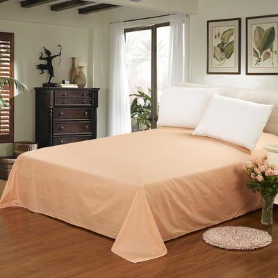 12868全棉单品系列  直角床单 160*230cm(直角) 约定