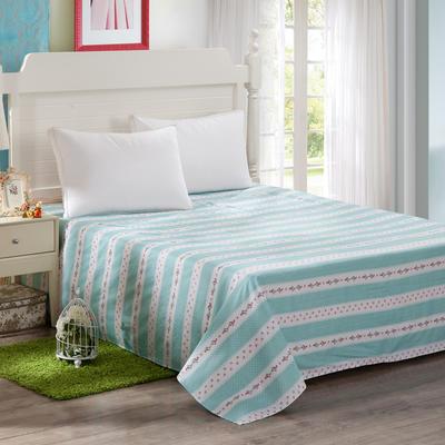 12868全棉单品系列  直角床单 160*230cm(直角) 沁香花语