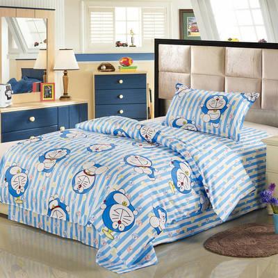 12868全棉三件套  纯棉学生宿舍三件套(总) 单人床三件套 多啦A梦