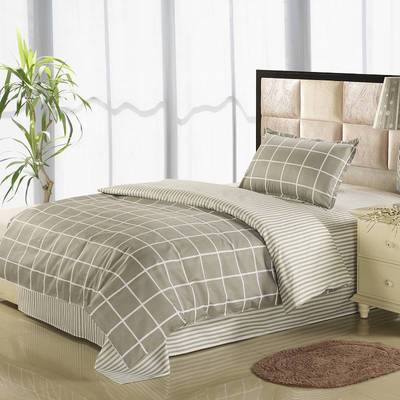 12868全棉三件套  纯棉学生宿舍三件套(总) 单人床三件套 黎明清静