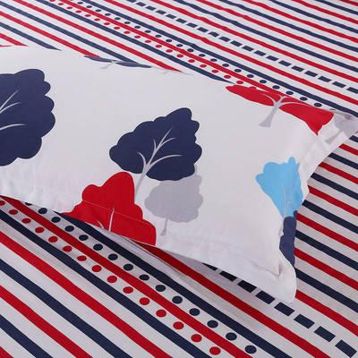 全棉多规格系列(单品枕套)  一对装 48cmX74cm --2个装 奇幻森林