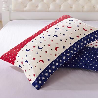 全棉多规格系列(单品枕套)  一对装 48cmX74cm --2个装 亲亲宝贝