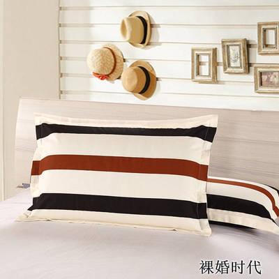 全棉多规格系列(单品枕套)  一对装 48cmX74cm --2个装 裸婚时代
