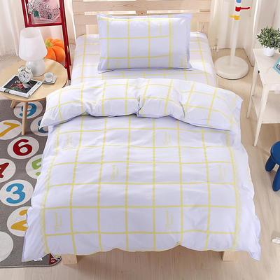 纯棉133*72全棉三件套 1.0m(3.3英尺)床 闪耀时刻-灰