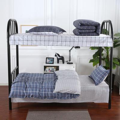 12868全棉三件套  纯棉学生宿舍三件套(总) 单人床三件套 索菲格