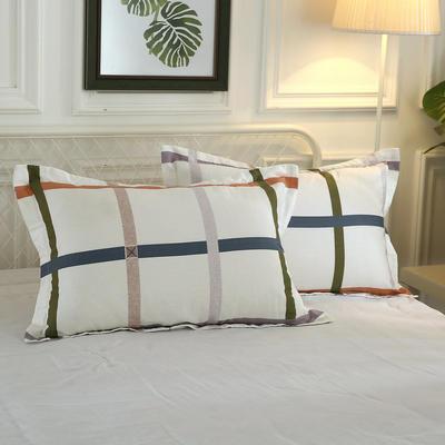 12868单品系列  全棉 枕套 单只装 48cmX74cm 缄默时光