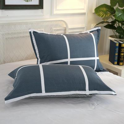 12868单品系列  全棉 枕套 单只装 48cmX74cm 休闲午后