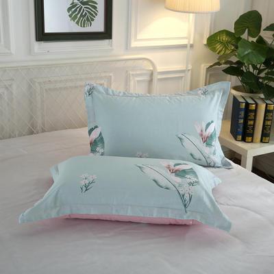 12868单品系列  全棉 枕套 单只装 48cmX74cm 叶羽