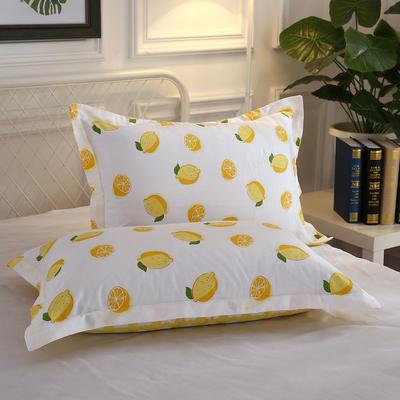 12868单品系列  全棉 枕套 单只装 48cmX74cm 一颗柠檬