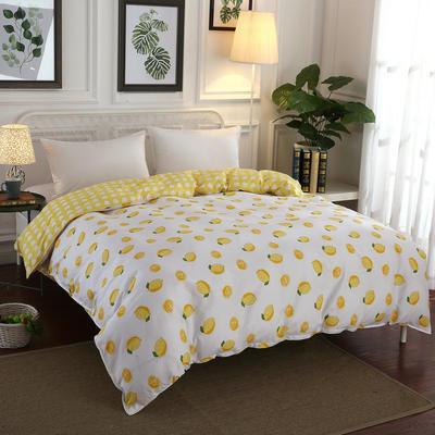 12868全棉多规格系列(单品被套) 160cmx210cm 一颗柠檬