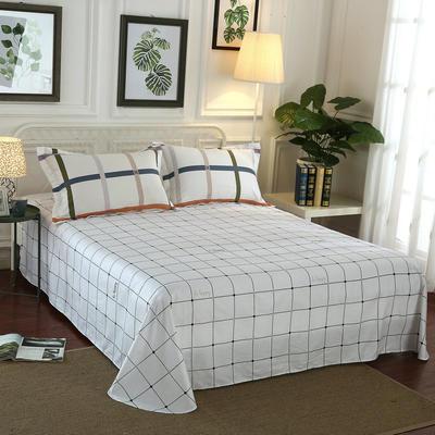 12868全棉单品系列  直角床单 230*250cm(直角) 缄默时光
