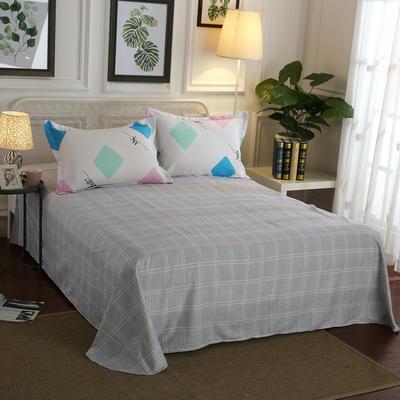 12868全棉单品系列  直角床单 230*250cm(直角) 恬静时光