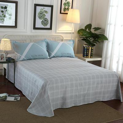 12868全棉单品系列  直角床单 160*230cm(直角) 午后闲暇