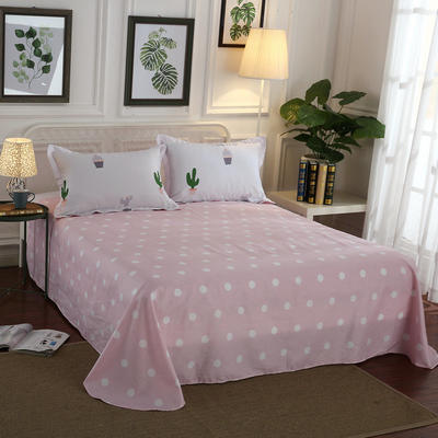 12868全棉单品系列  直角床单 230*250cm(直角) 小时代