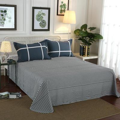12868全棉单品系列  直角床单 160*230cm(直角) 休闲午后