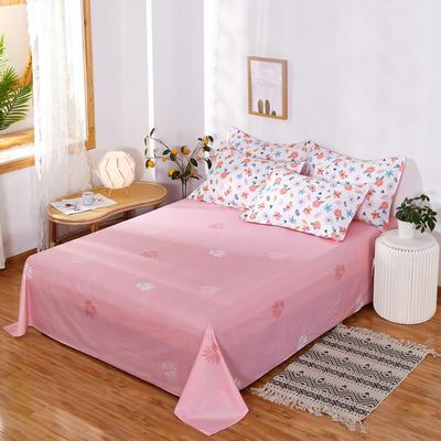 单品床单2021新款12868纯棉单品直角床单全棉 230cmx250cm 春意