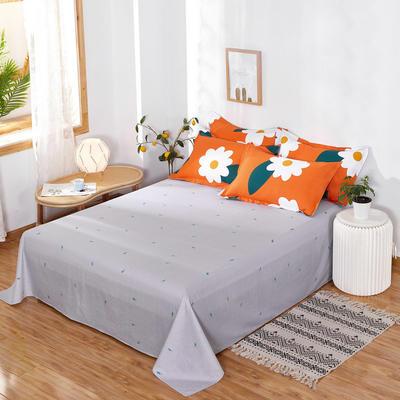 2020新款12868纯棉单品床单 160cmx230cm 丽人风尚