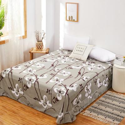 2020新款128X68全棉单品贴边床单 250cmx270cm 传奇