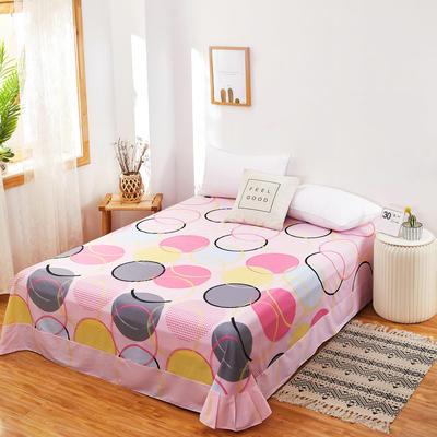 2020新款128X68全棉单品贴边床单 250cmx270cm 奇妙世界