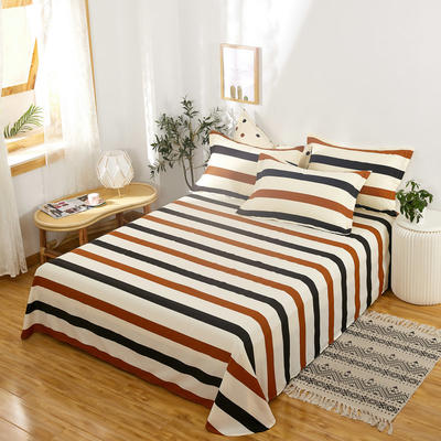 单品床单2021新款12868纯棉单品直角床单全棉 230cmx250cm 裸婚时代