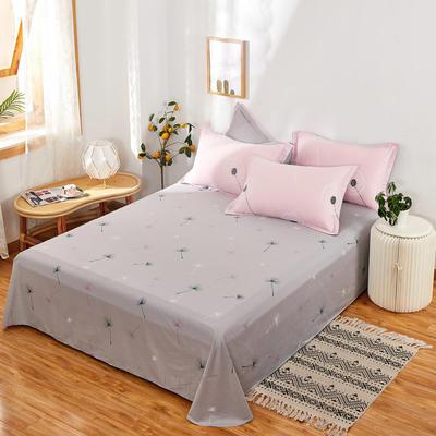 单品床单2021新款12868纯棉单品直角床单全棉 230cmx250cm 蒲公英