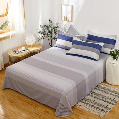 单品床单2021新款12868纯棉单品直角床单全棉 230cmx250cm 绅士之约