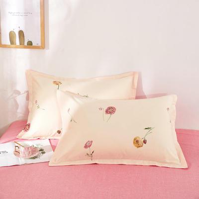 全棉多规格系列(单品枕套)全棉枕套  一对装 48cmX74cm --2个装 约定