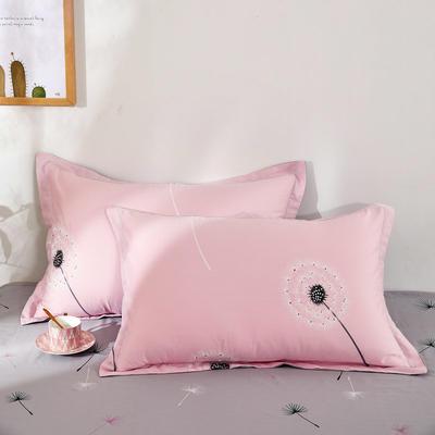 单品枕套2020新款12868纯棉单品枕套48*74cm 48cmX74cm/对 蒲公英