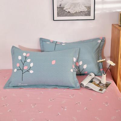 单品枕套2021新款12868全棉系列 48*74cm/对 欢乐树