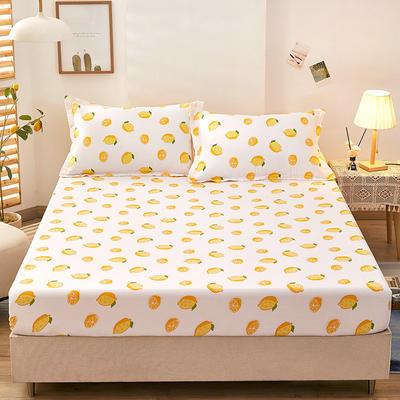 全棉单品床笠2021新款12868 180cmx200cm 一颗柠檬