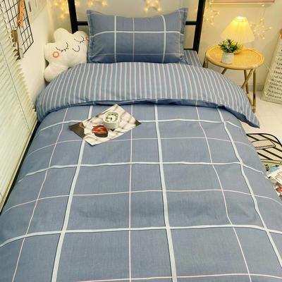 2021新款13372全棉三件套 床单式三件套 简美