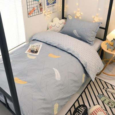 2021新款13372全棉三件套 床单式三件套 轻羽