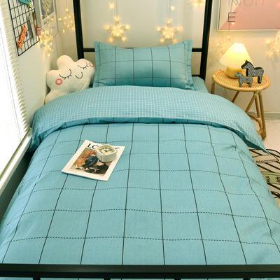 2021新款13372全棉三件套 床单式三件套 时尚韵律