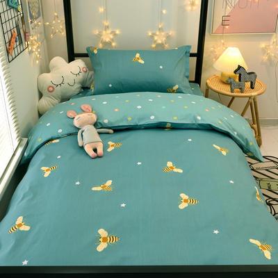 2021新款13372全棉三件套 床单式三件套 小蜜蜂