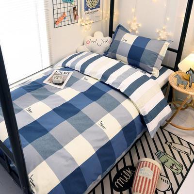 2021新款13372全棉三件套 床单式三件套 英伦