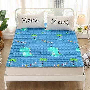 2020新品 全棉印花床垫 地垫爬爬垫 可定制尺寸 纯棉多功能四季床垫 可机洗