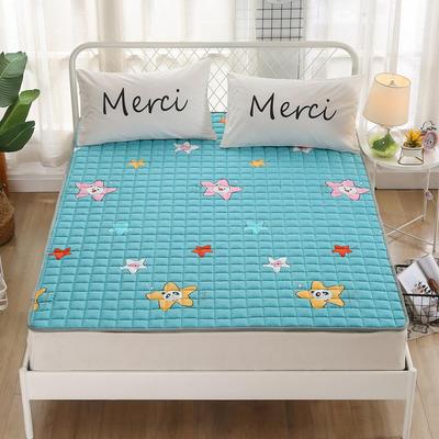 2020新品 全棉印花床垫 地垫爬爬垫 可定制尺寸 纯棉多功能四季床垫 可机洗 0.9*2 明星宝贝
