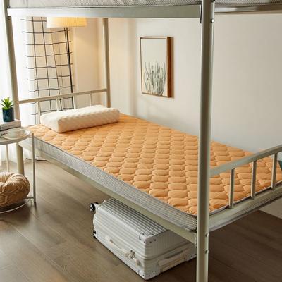2020新品学生床垫 乳胶床垫 全棉面料海绵床垫 不变形 可回弹 可定制 0.9x2.0米-5cm 驼色